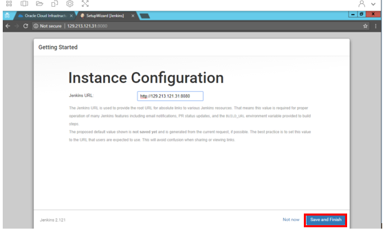 Deploying Jenkins | Oracle Cloud Infrastructure